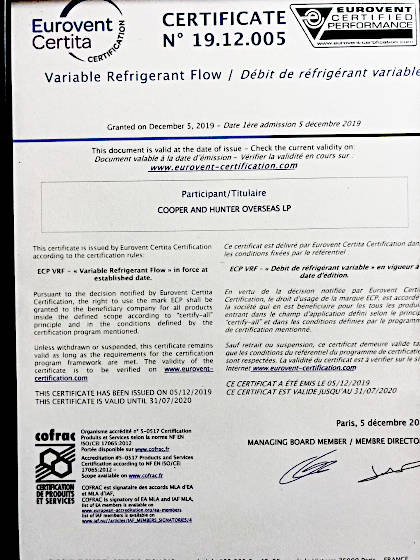 Сертификат право на использование знака ECP